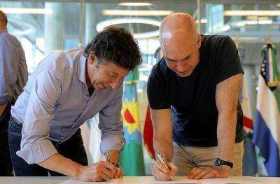San Isidro y la Ciudad de Buenos Aires firmaron un convenio de colaboración