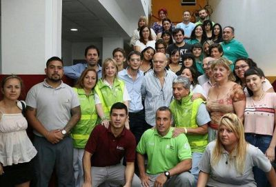 """EL EDIFICIO MUNICIPAL DE LANUS ES UN """"ÁREA CARDIOPROTEGIDA"""""""