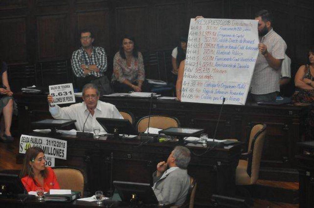 Con apoyo peronista el Gobierno provincial tiene Presupuesto