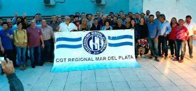 La CGT Mar del Plata realizó el tradicional brindis de fin de año