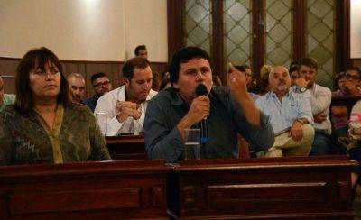 "Federico Aguilera: ""Fuimos los únicos que nos opusimos al tarifazo municipal"""