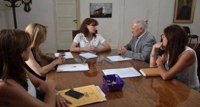 El Defensor del Pueblo visitó a la ministra de Salud provincial