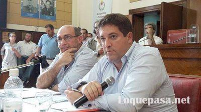 Mourelle fue al Concejo Deliberante para pedir por el Presupuesto