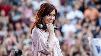 Cristina Kirchner aseguró que hará