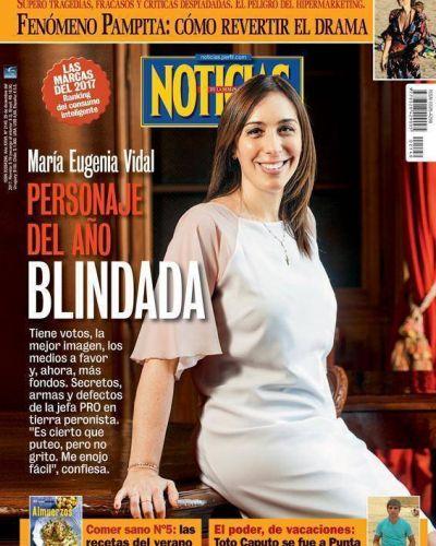 Personaje del año 2017: María Eugenia Vidal