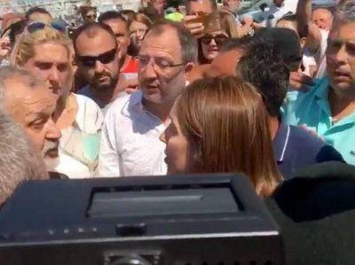 Mar del Plata no la hace feliz a Vidal: Se enfrentó cara a cara con Guardavidas