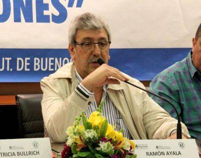 Ramón Ayala deja la presidencia del Renatre