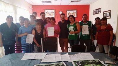 """ATE destacó la """"afiliación masiva"""" lograda en la Región Sur"""
