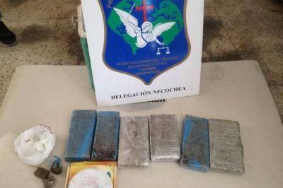 El Operativo Sol debutó con el decomiso de 6.5 kilos de droga en Necochea