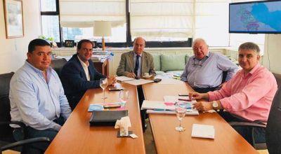 El Intendente se reunió con el presidente de AySA para definir una agenda de obras