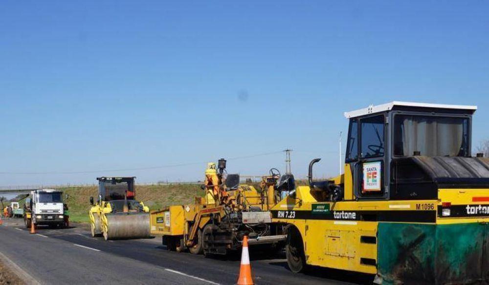 La Provincia avanza en la ejecución del plan de obras