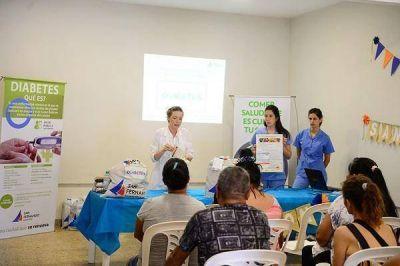 San Fernando presentó el Programa Alimentario Municipal para personas con Diabetes