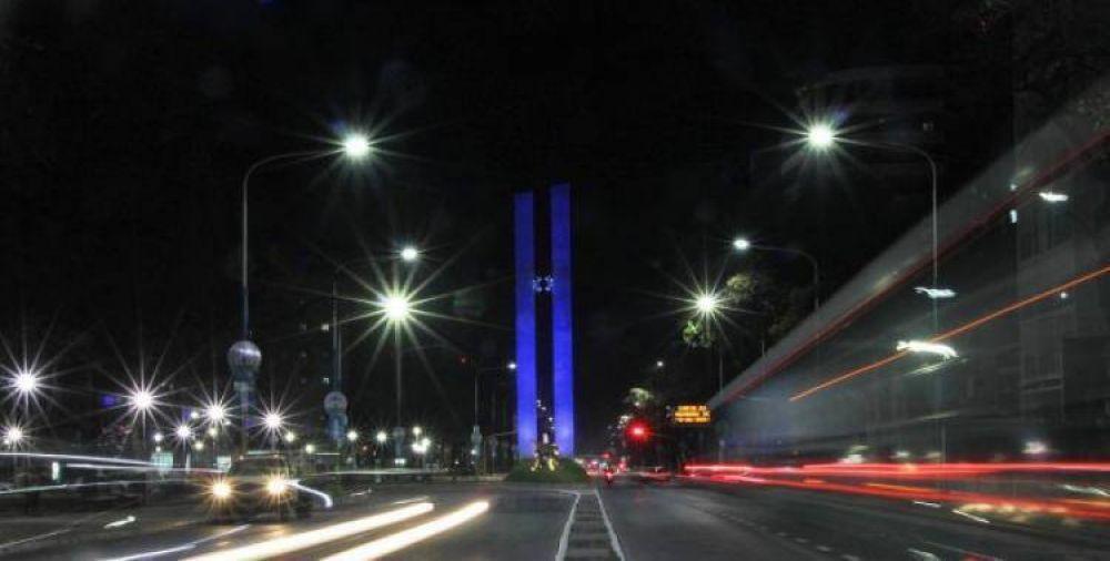 Ya se instalaron más de 10.000 luminarias LED en calles y avenidas de la Capital