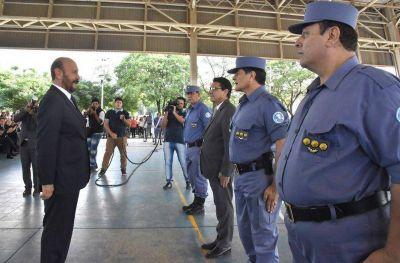 El gobernador Insfran presidio el acto de ascenso de efectivos policiales