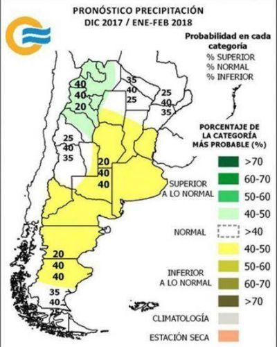 El 95 % del territorio chaqueño con valores de déficit de agua
