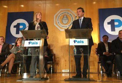 Sigue 1País: Margarita Stolbizer ratificó su sociedad con Sergio Massa