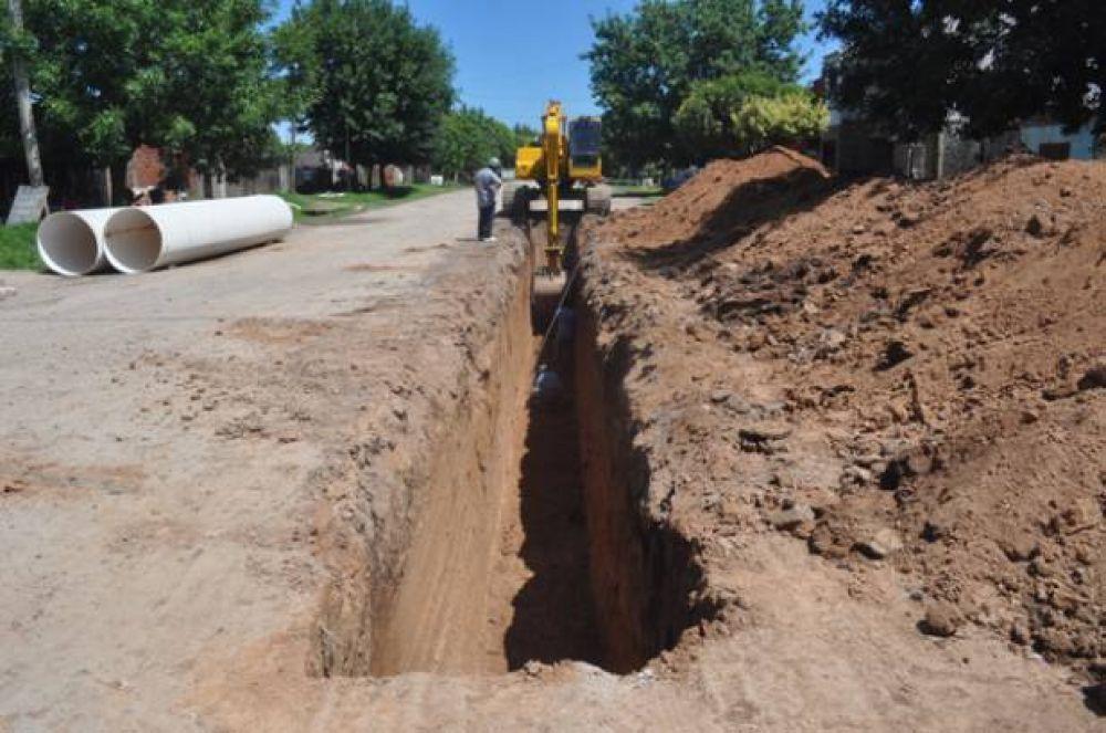 Avanzan obras de infraestructura en zona norte