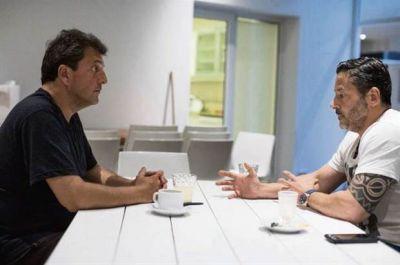 Massa, Menéndez y una foto para destrabar el camino hacia 2019