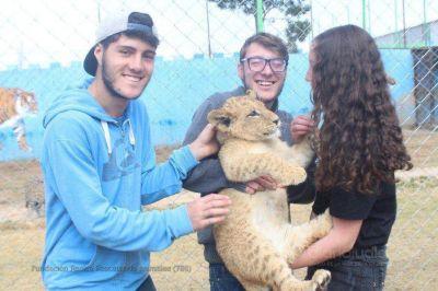 Jóvenes de la comunidad judía apoyan el rescate de los animales y la preservación de las especies