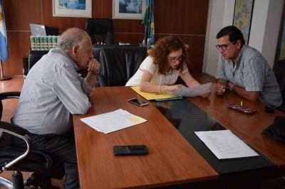 Pacheco avanza con gestiones para construir viviendas