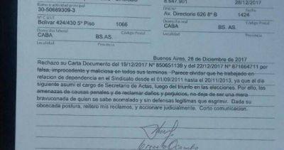 Acusan a Gonzalez Insfran de despedir a un dirigente por armar una lista opositora