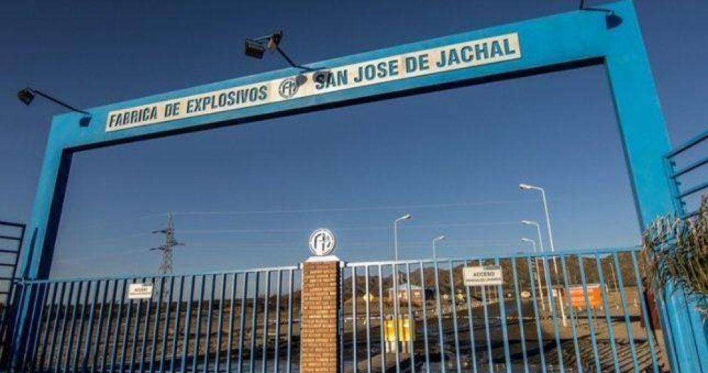 Despiden al 40% del personal de Fabricaciones Militares en San Juan