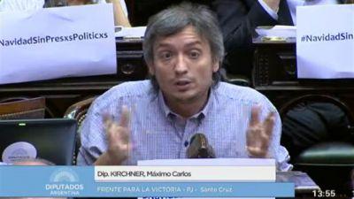 Máximo Kirchner se mete en las negociaciones con el PJ