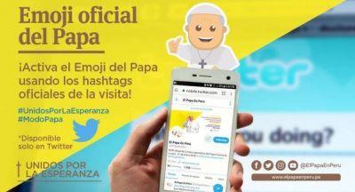 La gira de Francisco a Chile y Perú ya tiene un emoji exclusivo en las redes