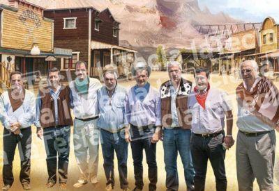 Los jinetes anti grieta del lejano oeste bonaerense