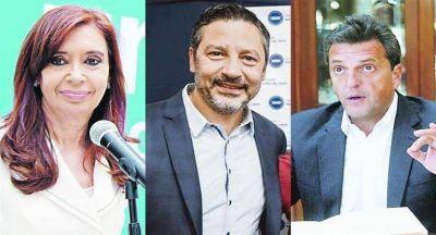 Objetivo PJ: frente electoral CFK-Massa en la PASO del 2019