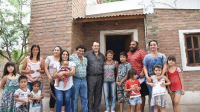 Familias de Capital accedieron a las viviendas sociales