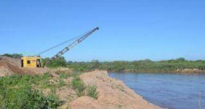 Avanzan obras para prevenir inundaciones en Lamadrid