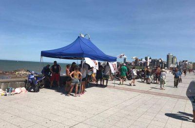 Guardavidas reclaman por la situación laboral de 8 trabajadores