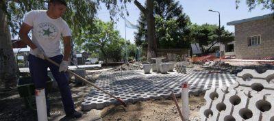 Lanús Oeste: Renuevan el parque Gral San Martín