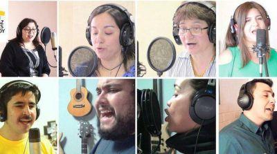 """Chile: 17 artistas interpretan """"A una sola voz"""" para acoger al Papa"""