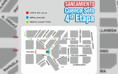 Ituzaingó: Avanza obra del saneamiento de Arroyo Soto que beneficiará a 45 mil vecinos