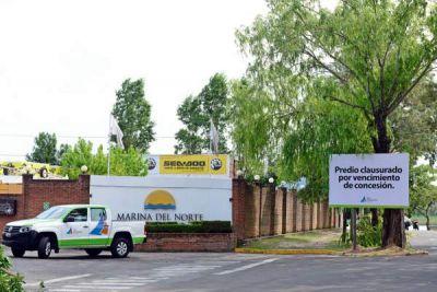San Fernando clausuró Marina del Norte para que cese la actividad comercial y devuelva los terrenos ribereños