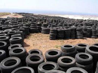 ACUMAR: Se inició el programa de gestión de neumáticos fuera de uso