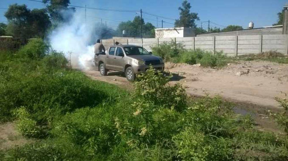 Nuevos operativos de fumigación se llevan a cabo en la ciudad
