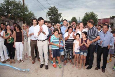 El Gobernador inauguró obras en Rosario de la Frontera