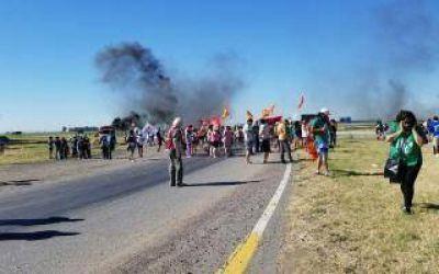 Azul en emergencia laboral: Nuevo corte de trabajadores despedidos de Fanazul en Ruta 3