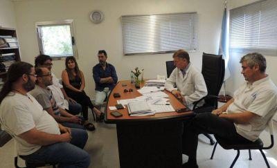 Municipales se reunieron con Galli y funcionarios