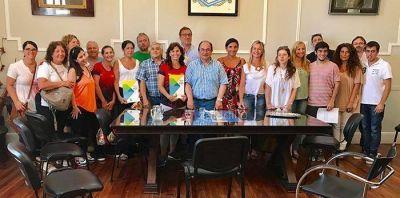 El municipio firmó acuerdos con distintas instituciones