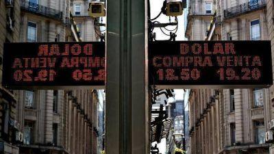 La leve baja de tasas demolió al dólar a menos de $19 y a la Bolsa 1,58%
