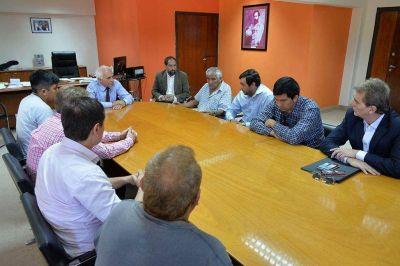 El ministro de Gobierno recibió a familiares de Nahuel Salvatierra