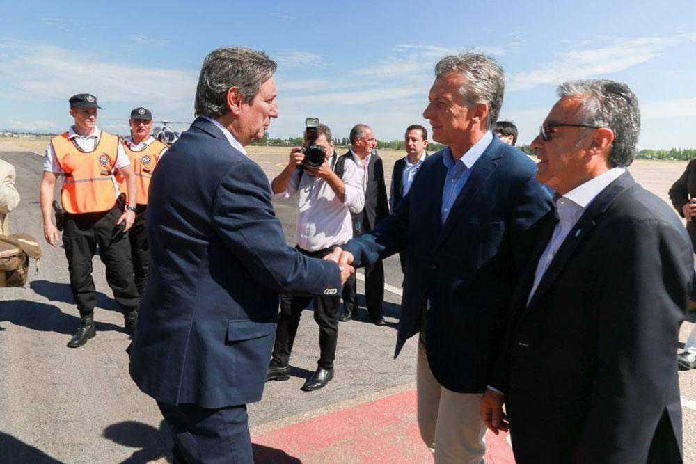 Portezuelo: Mendoza le hizo un pedido formal a Macri con el trasvase del río Grande al Atuel