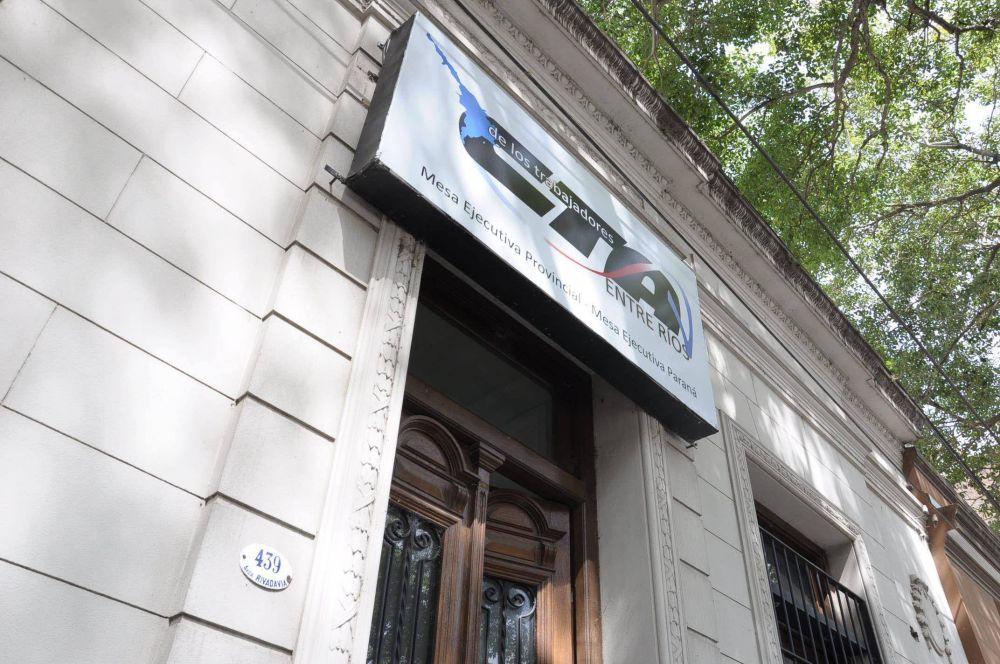 """CTA Entre Ríos se reunió para ratificar la lucha contra la reforma laboral y por paritarias """"a la alza"""""""