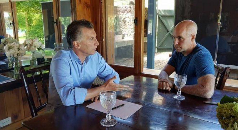 Cumbre de Macri y Larreta para hablar de Carrió y Lousteau, en medio de las tensiones