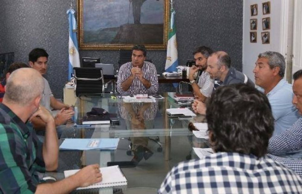 Capitanich analizó obras de Villa San Juan Y Villa Saavedra