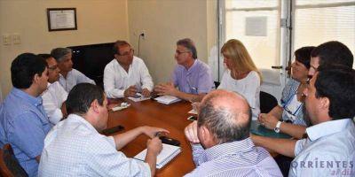 Tassano se reunió con funcionarios del ICAA